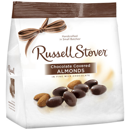 Russell Stover Chocolate Covered Almonds, 12 oz