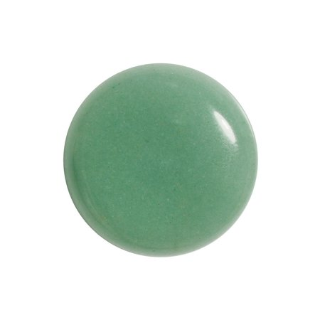 Green Aventurine Gemstone Round Flat-Back Cabochons 25mm (1 -