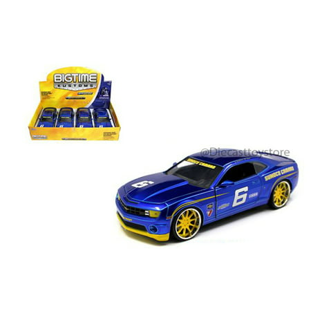 JADA TOYS 1:24 2010 SUNOCO RACING CHEVY CAMARO SS NO RETAIL BOX 92489-SUNOCO (Retail Racing)