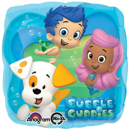 Bubble Guppies Foil Balloon - Bubble Guppies Party Decor