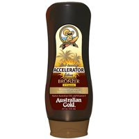 Dark Tanning Accelerator Lotion with Instant Bronzer Australian Gold, 8 fl oz
