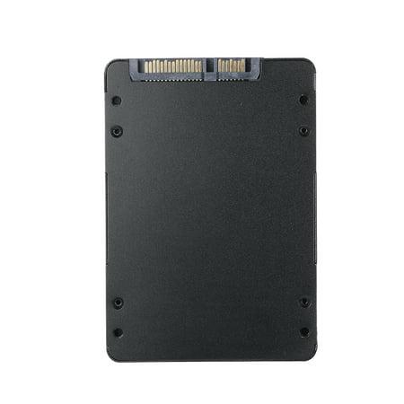 Black Metal SSD Enclosure M.2 NGFF SSD to 22Pin 2.5'' 2280 SATA Adapter Card 7mm Height - image 6 de 7