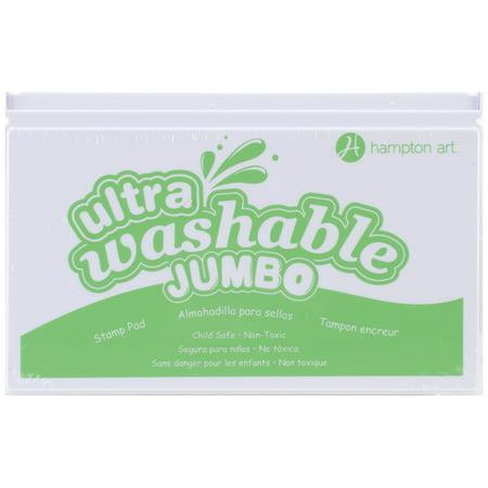 - Hampton Art Jumbo Washable Ink Pad-Green