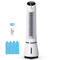 Costway Portable Air Conditioner Cooler Fan Filter Humidify Tower Fan W/ Remote Control