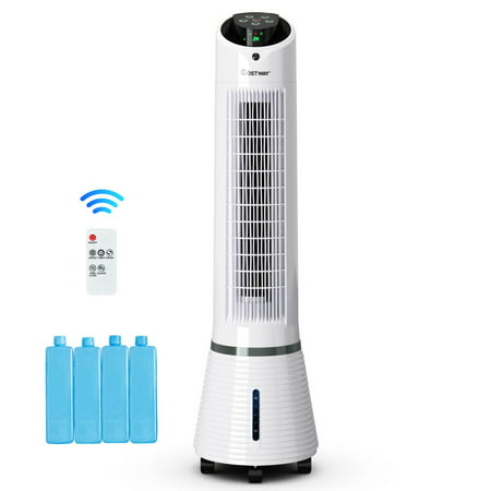 Costway Portable Air Conditioner Cooler Fan Filter Humidify Tower Fan W/ Remote Control - image 1 of 10