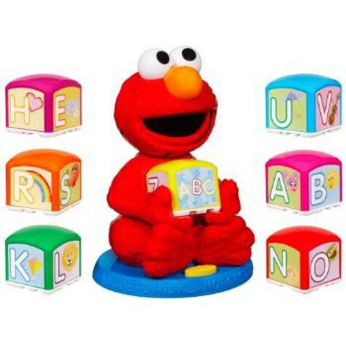 Sesame Street Playskool Elmo's Find & Learn Alphabet Blocks by Sesame Street