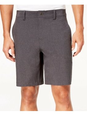 Charcoal Mens Performance Stretch Shorts 36