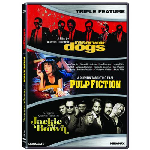 Quentin Tarantino Triple Feature: Reservoir Dogs / Pulp Fiction / Jackie Brown (Widescreen)