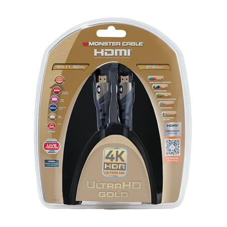 Monster Ultra 6ft HDMI Cable