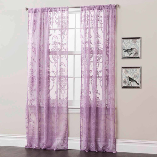 Anya Window Curtains, Pair