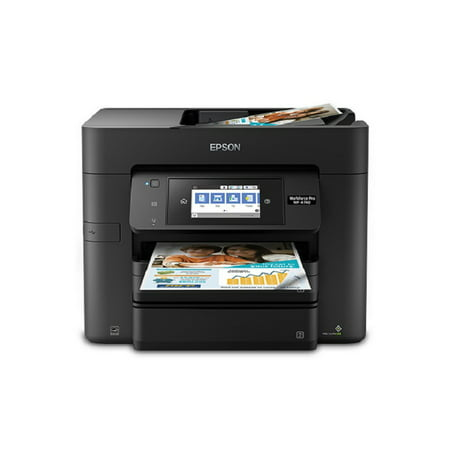 Epson WorkForce Pro WF-4740 Wireless All-in-One Color Inkjet Printer, Copier, Scanner with Wi-Fi
