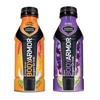 BodyArmor SuperDrink, Electrolyte Sport Drink, Orange Mango & Grape 16 Oz (Pack of 24)