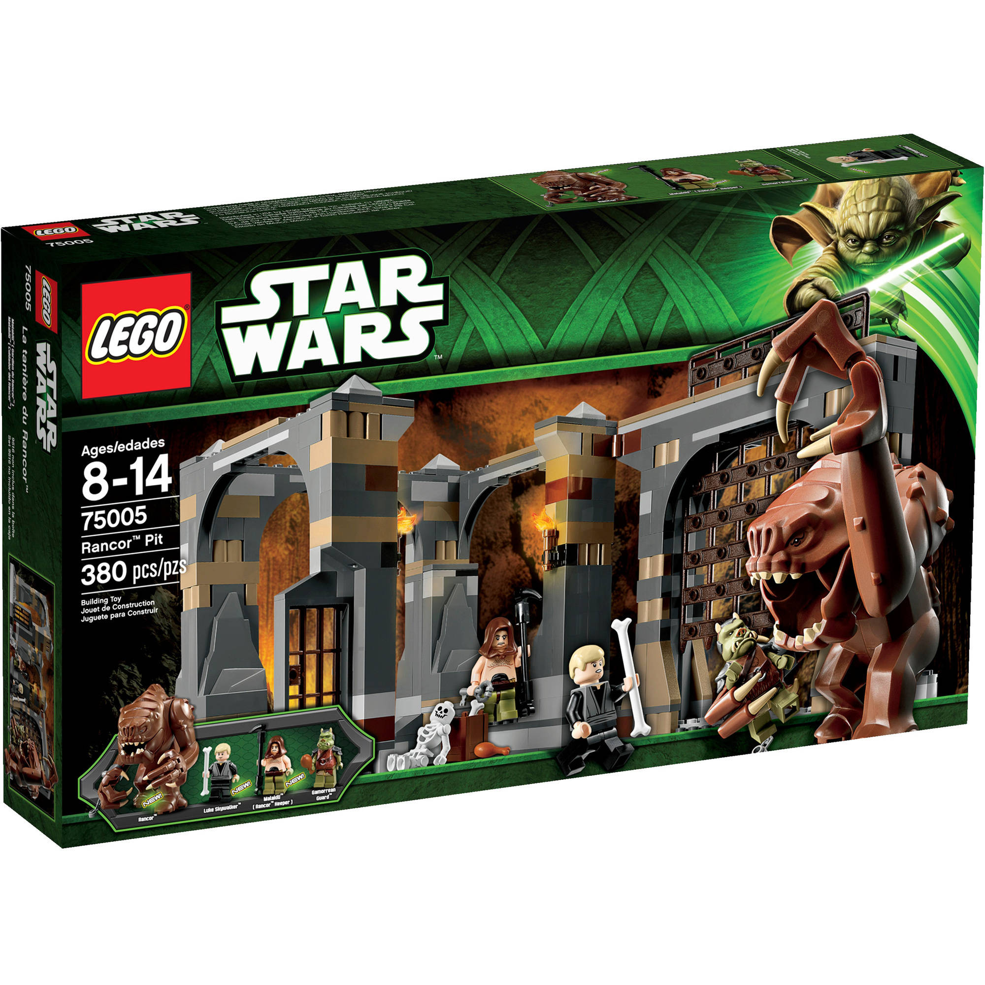 LEGO Star Wars Rancor Pit Play Set