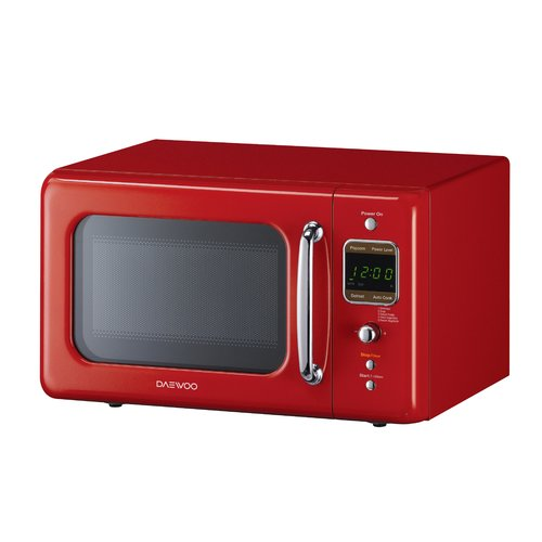 Daewoo Appliance Retro 17.6'' 0.7 cu. ft. Countertop Microwave