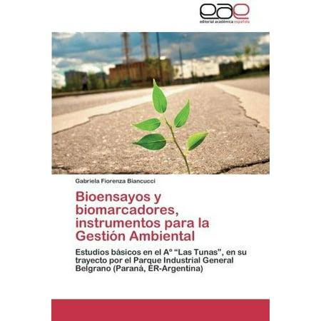 Bioensayos Y Biomarcadores  Instrumentos Para La Gestion Ambiental