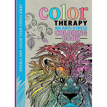 Color Therapy : An Anti-Stress Coloring Book - Walmart.com