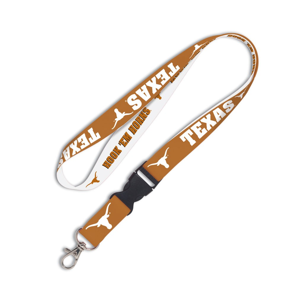 Texas Longhorns Official NCAA 20 inch  Lanyard Key Chain Keychain by WinCraft