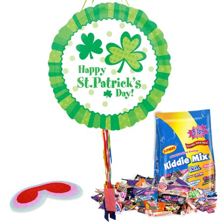St. Patrick's Day Pull String Pinata Kit - Party Supplies