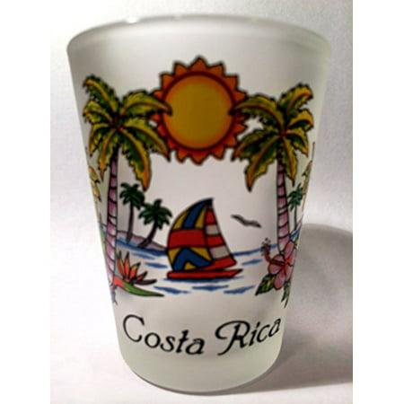 Paradise Costa Rica - Costa Rica Beach Paradise Shot Glass