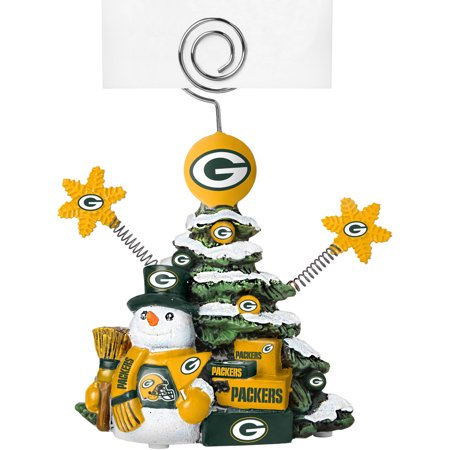 Nfl Holder (Topperscot by Boelter Brands NFL Tree Photo Holder, Green Bay Packers)