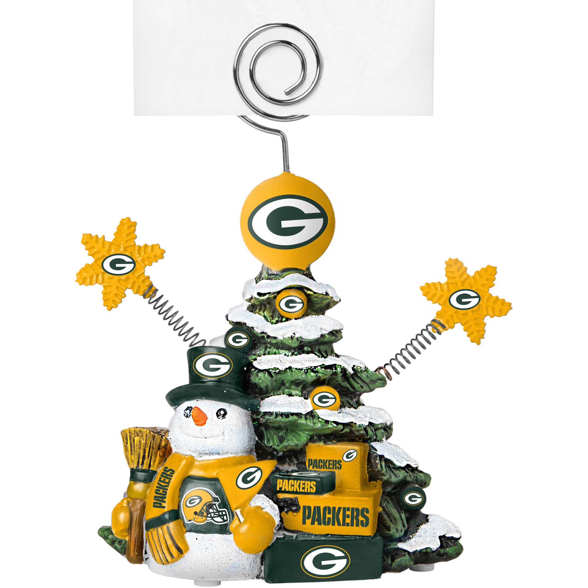 Topperscot by Boelter Brands NFL Tree Photo Holder, Green Bay Packers