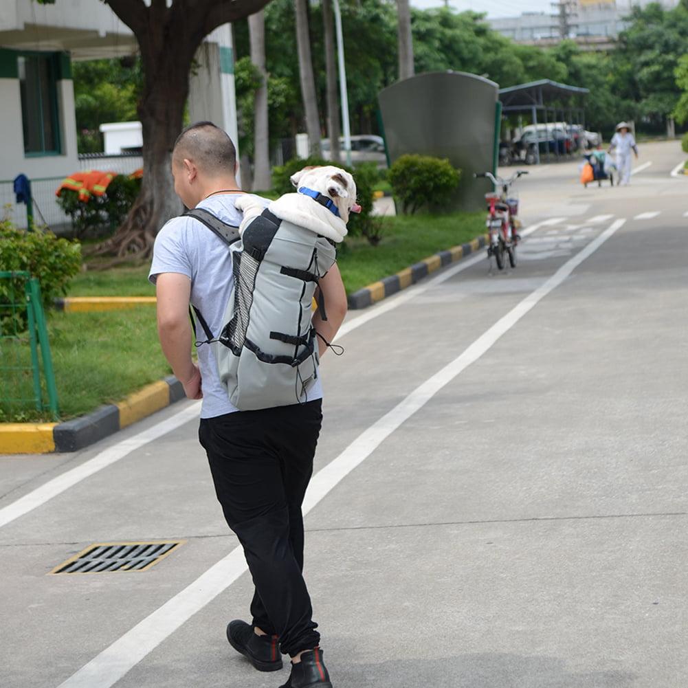 Dog Bag Carrier Pet Dog Backpack for Large Medium Small Dogs Breathable Travel Dog Bag for Riding Hiking - image 6 de 8