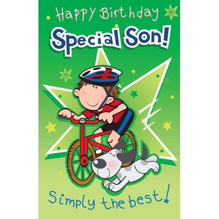 Singing Card- Happy Birthday Son - Singing Happy Birthday