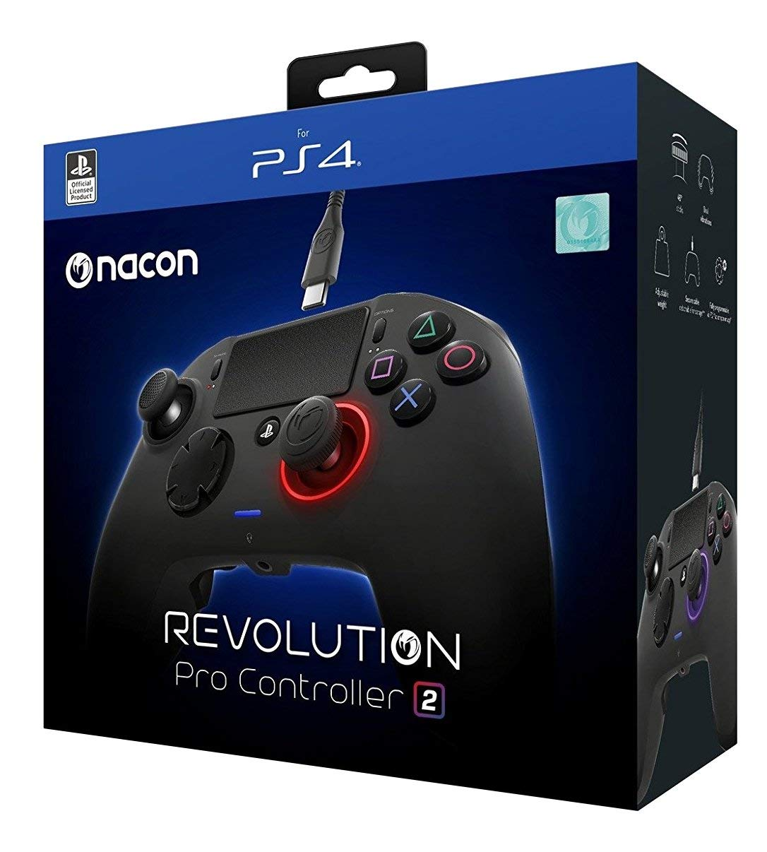 Nacon Revolution Pro 2 V2 Controller eSports Gamepad for Playstation 4 PS4 PS