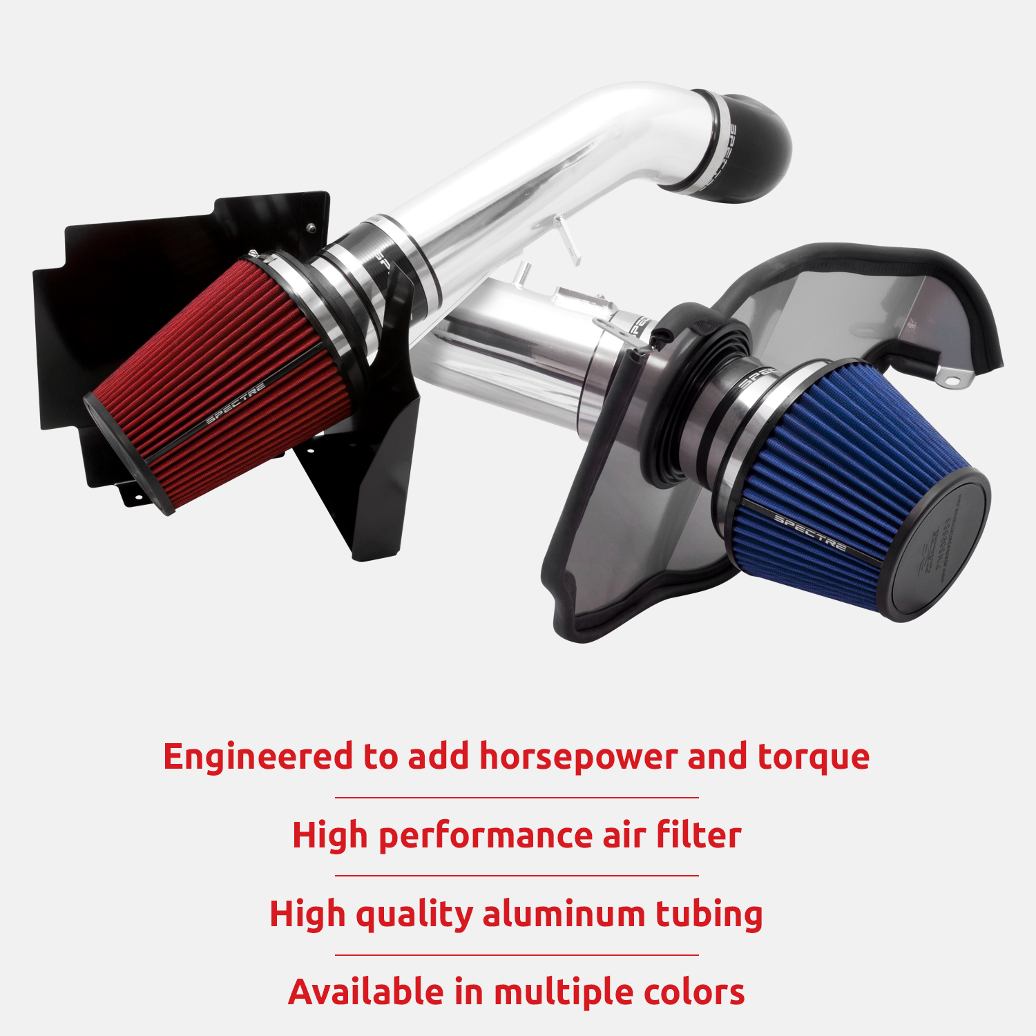 Spectre Performance Air Intake Kit: High Performance Civic SPE-9082 Desgined to Increase Horsepower and Torque: 2012-2015 HONDA