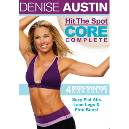 Denise Austin: Hit The Spot Core Complete - Core Rhythms Dvd