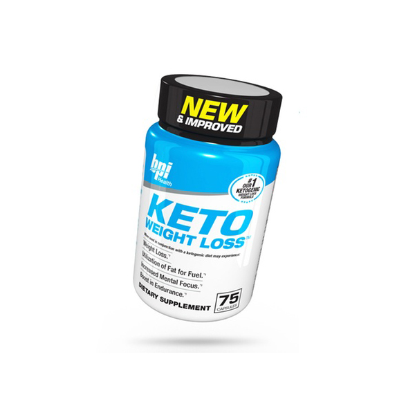 BPI Health Keto Weight Loss Ketogenic Diet Supplement 75 Capsules
