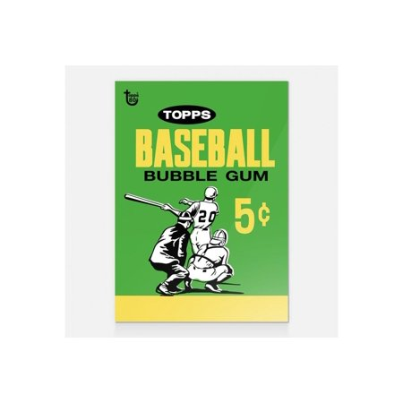 Baseball 1964 Topps 80th Anniversary Wrapper Art Card