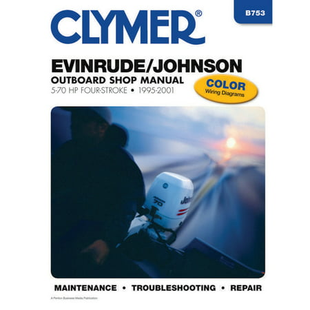Clymer Evinrude/Johnson Repair Manual - 1995-2001 Outboards
