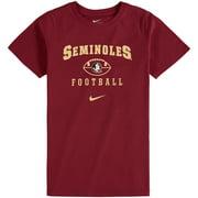 Florida State Seminoles Nike Youth Retro '97 Football T-Shirt - Garnet