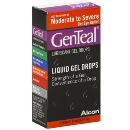 GenTeal Lubricant Gel Drops Moderate to Severe Dry Eye 15 mL