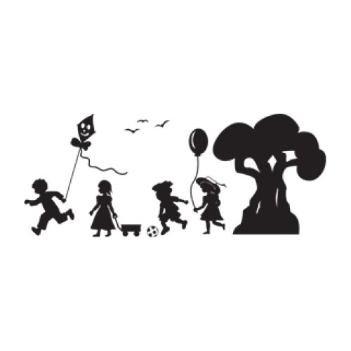 Style and Apply Kindergarten Wall Decal