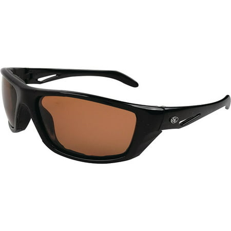 Yachter 39 s choice pompano sunglasses brown polarized for Polarized fishing sunglasses walmart