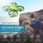 Eachine 2.4Ghz 6-Axis Mini RC Drones RC Nano Quadcopter with Altitude Hold Function for Beginner, 3D Flips,Headless Mode and Extra Batteries Easy to Fly for Kids and Adults Gifts