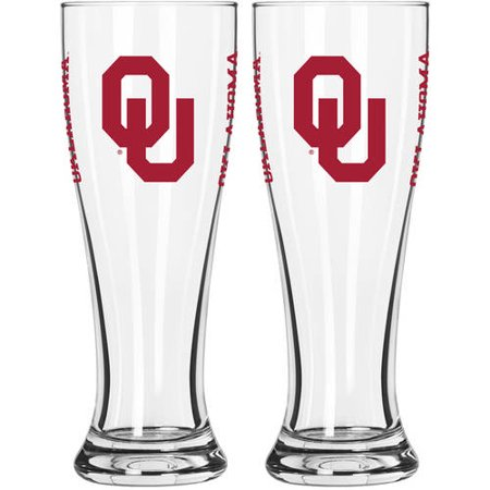 Boelter Brands Oklahoma Sooners NCAA 2-Pack Gameday Pilsner Set