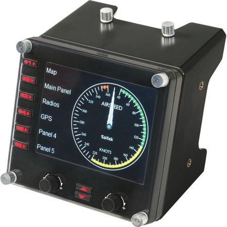 Saitek Pro Flight Instrument Panel for PC - Cable - USB - PC (Saitek Pro Flight Yoke System)