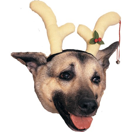 Morris Costumes Reindeer Comical Dog Antlers, Style RU432 - Reindeer Costume For Dogs