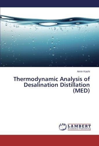 Thermodynamic Analysis of Desalination Distillation (Med) by Omniscriptum Gmbh & Co. Kg