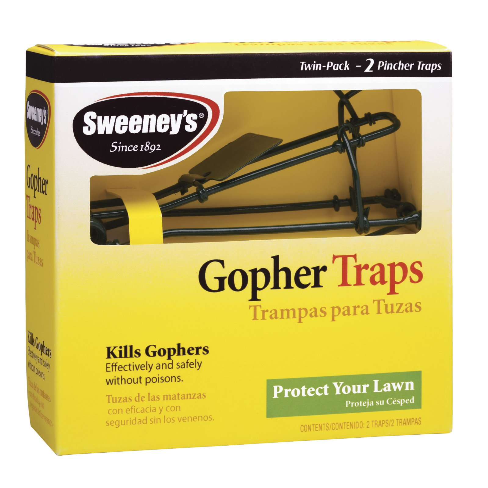 Sweeney's 2-Pack Gopher Trap