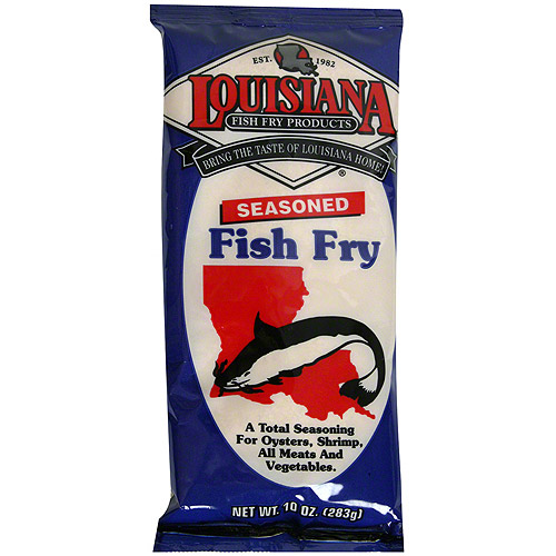 Louisiana Fish Fry Products Seasoned Fish Fry, 10 oz (Pack of 12)