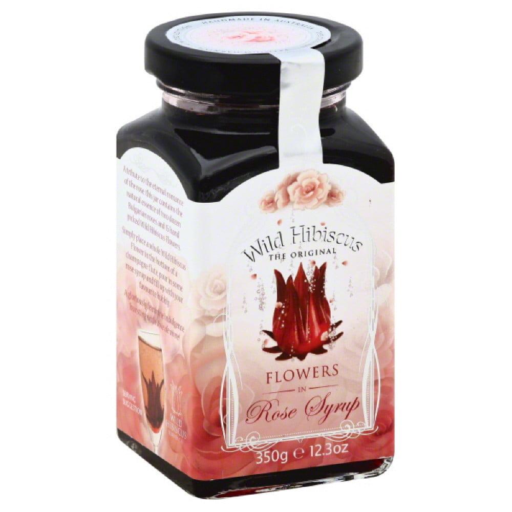 Wild hibiscus flowers in rose syrup 123 oz pack of 12 walmart izmirmasajfo