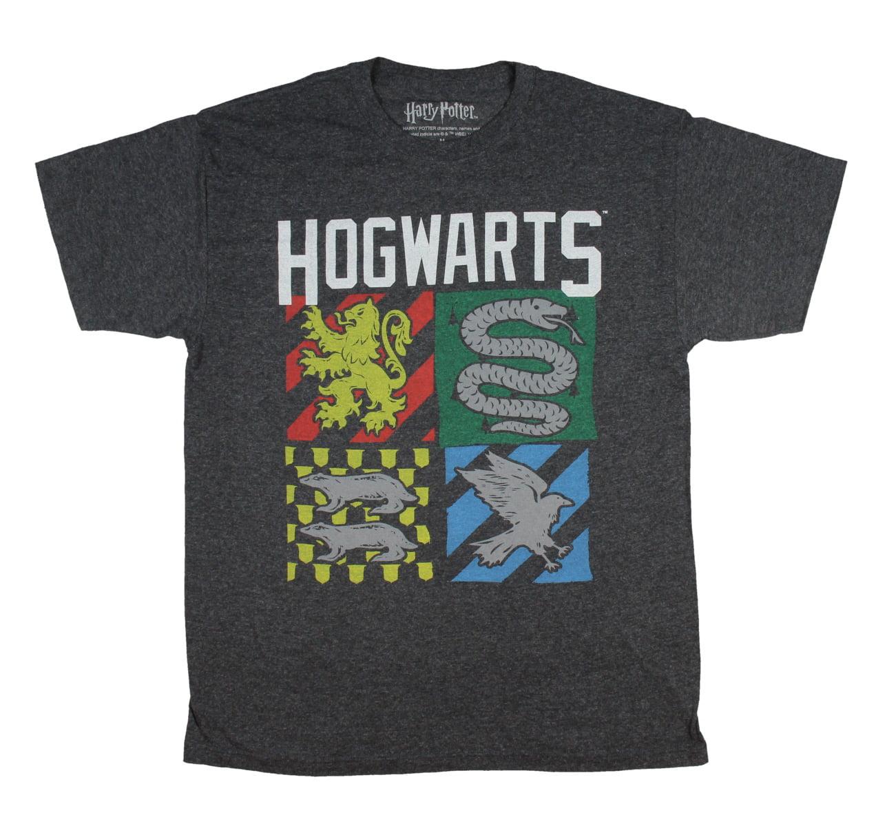 Harry Potter Hogwarts Shirt House Banner Sigil T-Shirt