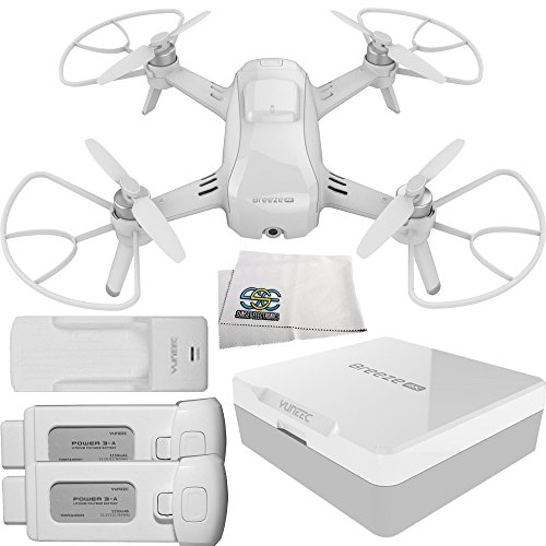 Yuneec Breeze Compact 4K UHD Quadcopter Drone Starters Bundle