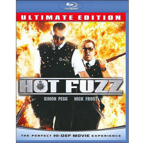 Hot Fuzz (Blu-ray) (With INSTAWATCH) (Widescreen)