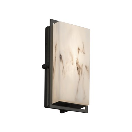 Justice Designs LumenAria Avalon Outdoor LED Wall Sconce - Matte Black - FAL-7562W-MBLK