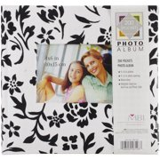 "Flocked Photo Album 10""X9.5"" 200 Pockets-"